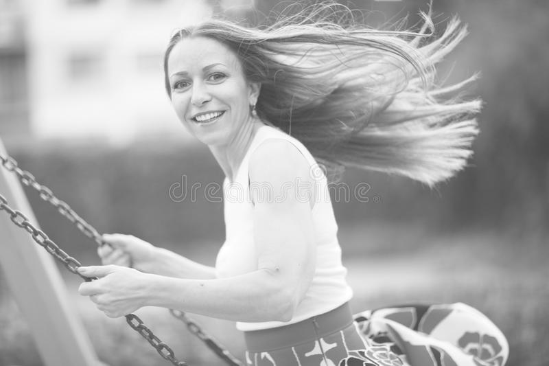Retrato de uma mulher imagem de stock royalty free