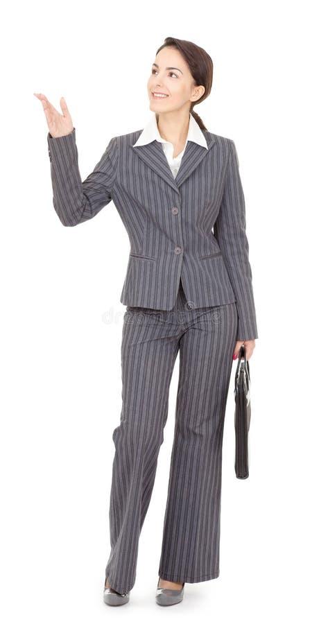 Retrato de uma mulher de negócio fotos de stock