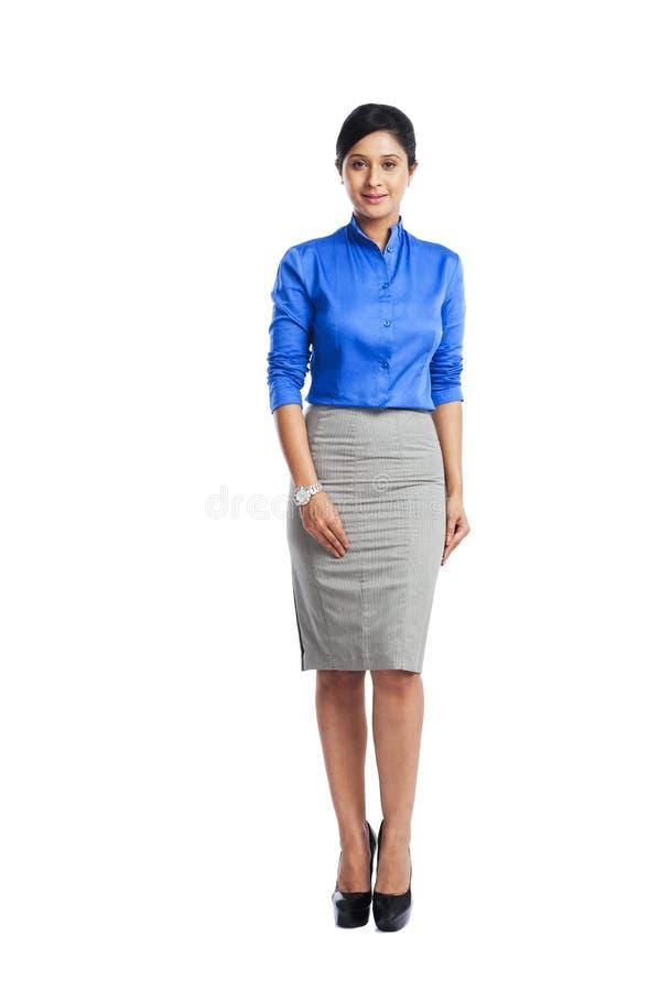 Retrato de uma mulher de negócios imagem de stock royalty free