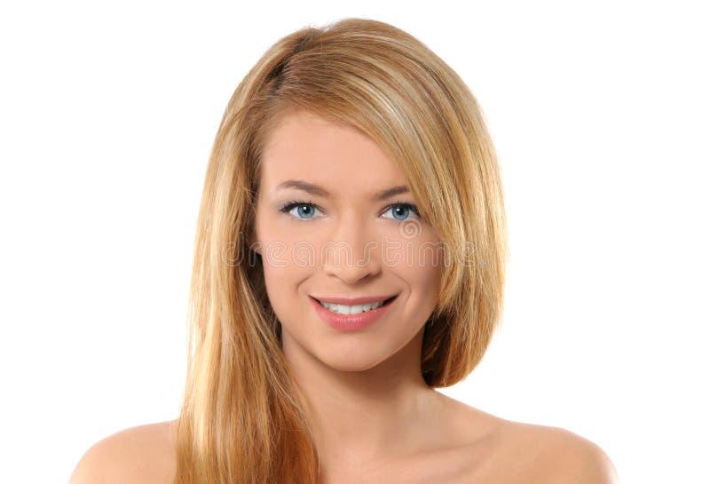 Retrato de uma mulher nova e 'sexy' do redhead imagem de stock royalty free