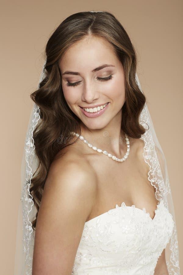Retrato de uma noiva nova imagem de stock royalty free