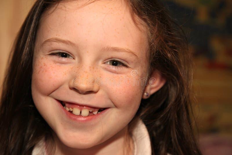 Retrato de uma rapariga. imagens de stock royalty free