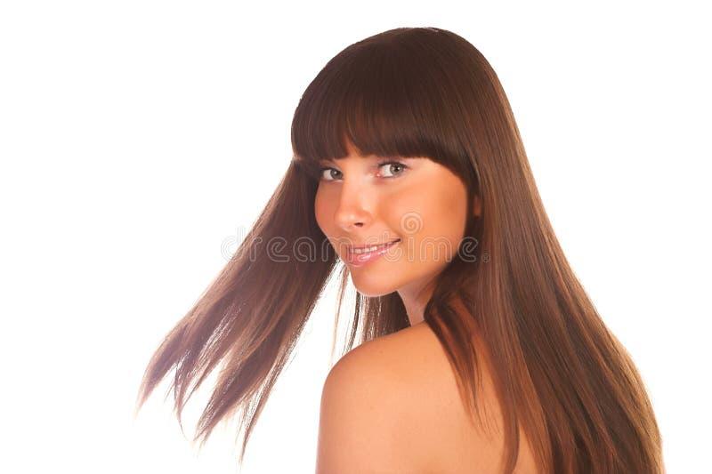 Retrato de un brunette fotografía de archivo libre de regalías