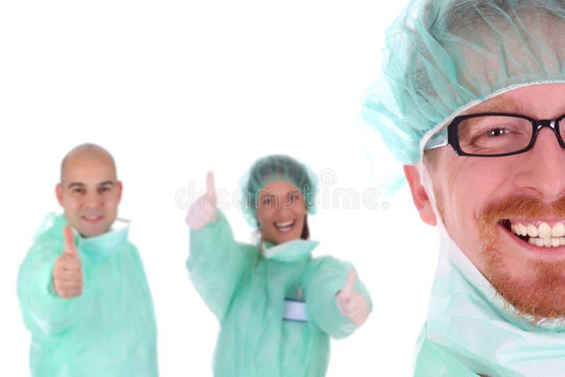Retrato de un cirujano imágenes de archivo libres de regalías