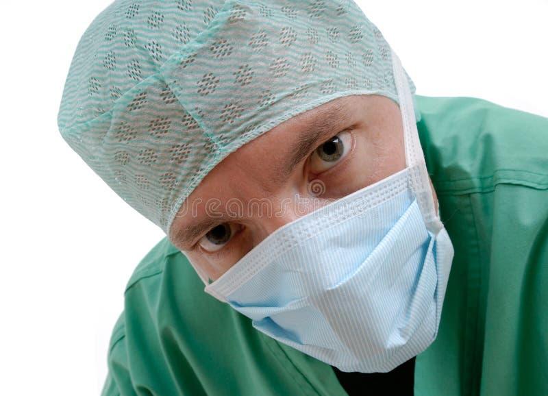 Retrato de un doctor foto de archivo libre de regalías