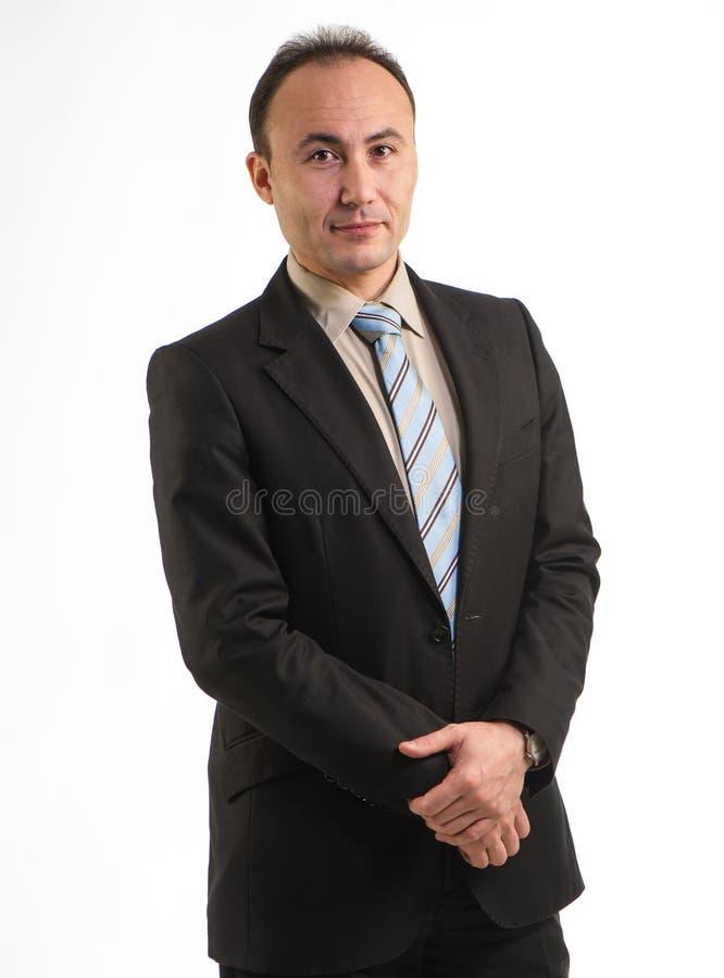 Retrato de un empresario imagen de archivo