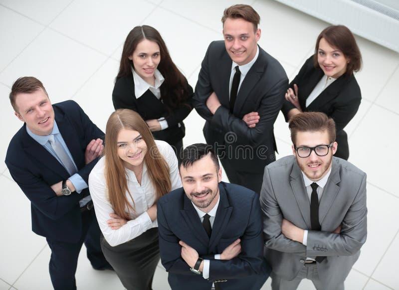 Retrato de un equipo profesional del negocio fotografía de archivo