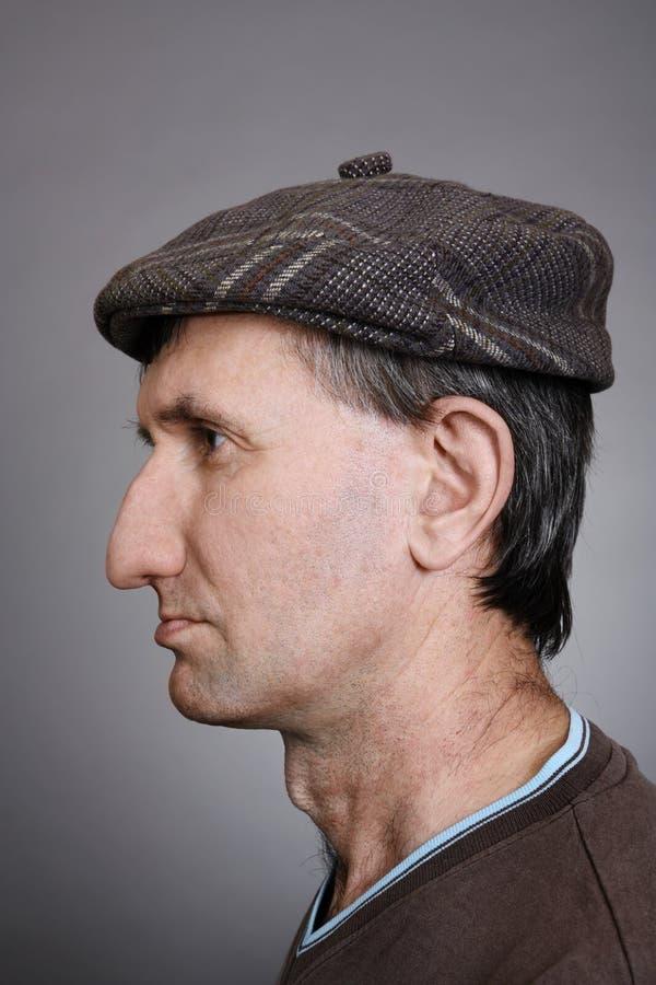 Retrato de un hombre fotos de archivo