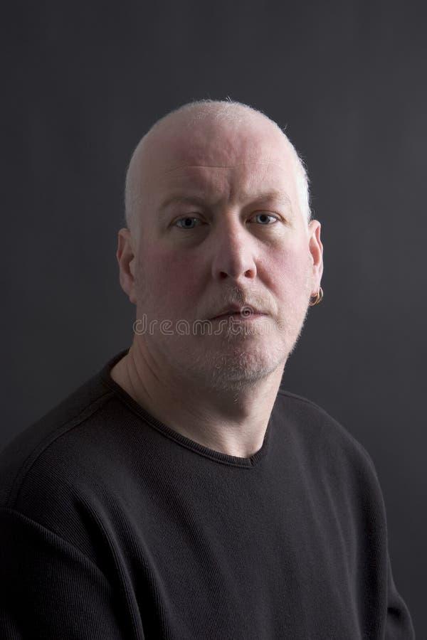 Retrato de un hombre foto de archivo libre de regalías