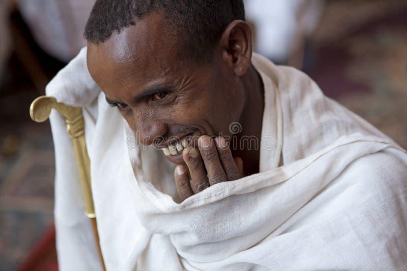 Retrato de un hombre etíope fotos de archivo libres de regalías