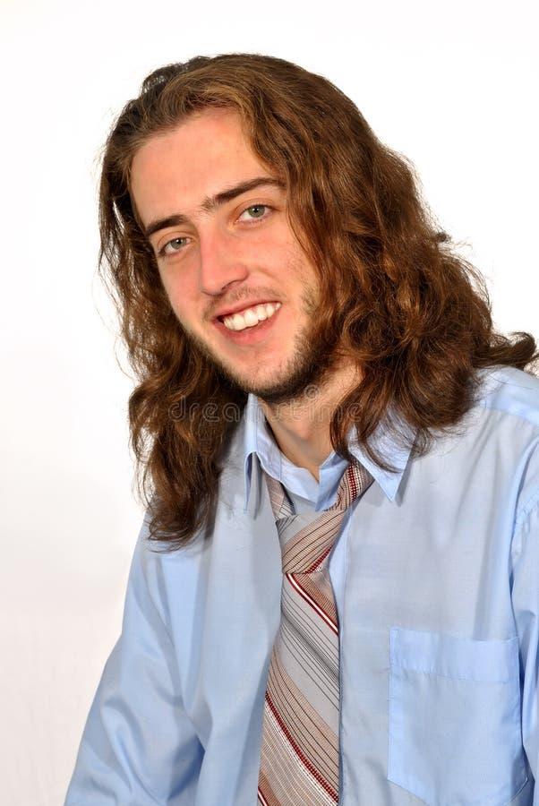 Retrato de un hombre joven foto de archivo libre de regalías