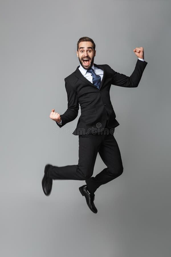Retrato de un hombre de negocios hermoso confidente foto de archivo libre de regalías