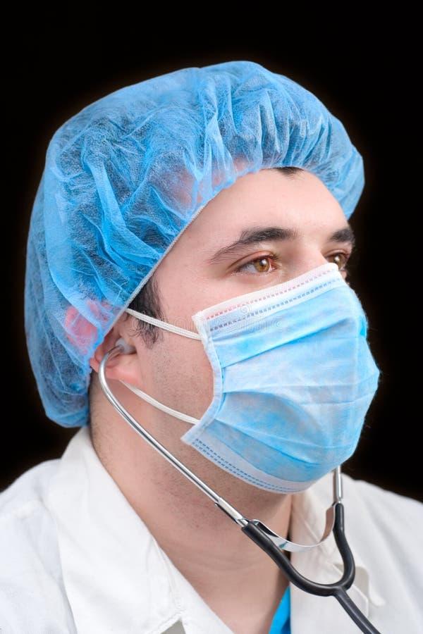 Retrato de un médico facultativo fotos de archivo