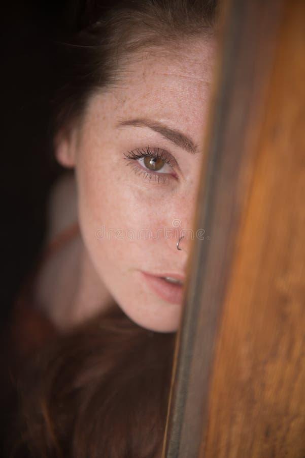 Retrato de un modelo británico joven fotografía de archivo libre de regalías