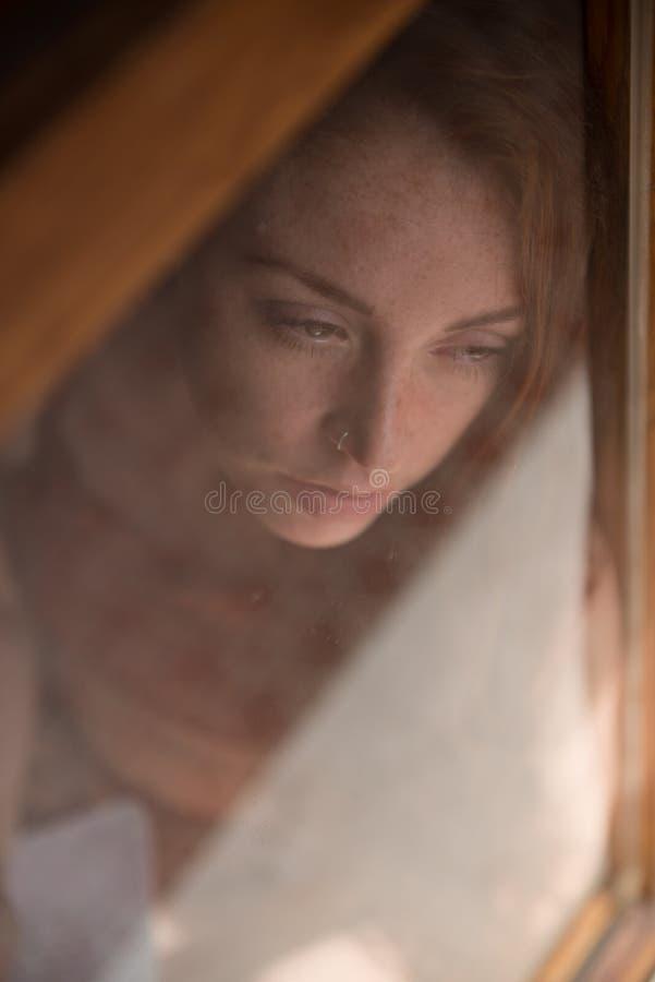 Retrato de un modelo británico joven foto de archivo libre de regalías