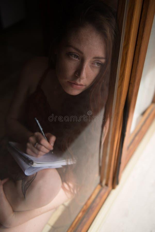 Retrato de un modelo británico joven imagen de archivo libre de regalías