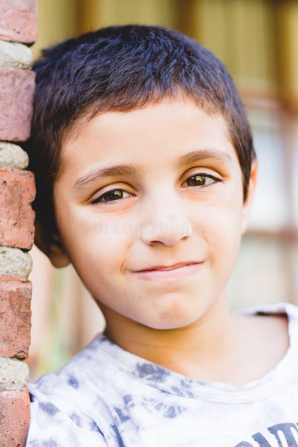 Retrato de un niño imágenes de archivo libres de regalías