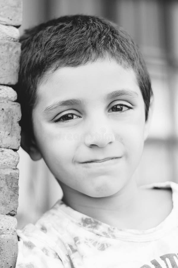 Retrato de un niño imagenes de archivo
