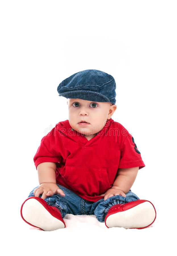 Retrato de un niño joven foto de archivo libre de regalías