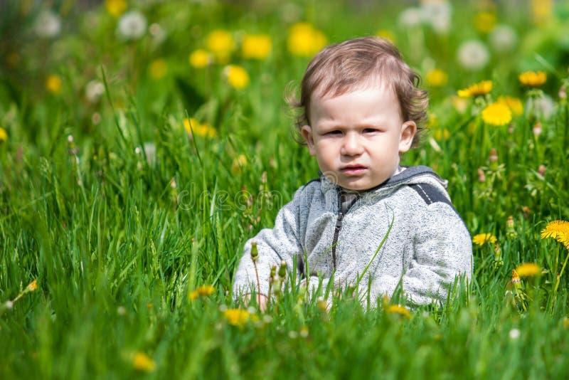 Retrato de un niño pequeño Niño al aire libre foto de archivo libre de regalías