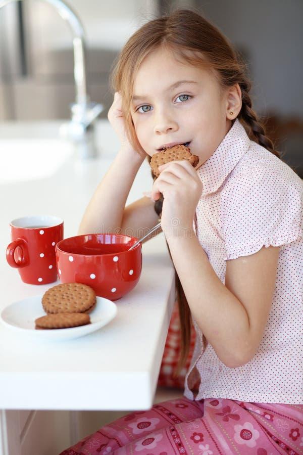 Desayuno en casa imágenes de archivo libres de regalías