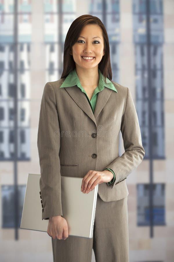 Retrato de una empresaria foto de archivo
