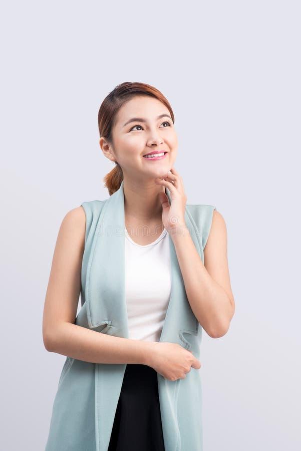 Retrato de una empresaria joven atractiva foto de archivo libre de regalías