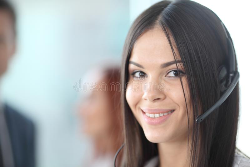 Retrato de una empresaria sonriente fotos de archivo libres de regalías