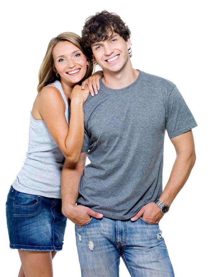 Retrato de una gente feliz foto de archivo libre de regalías