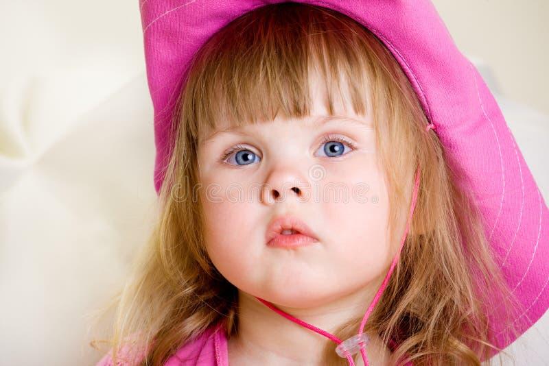 Retrato de una muchacha fotografía de archivo