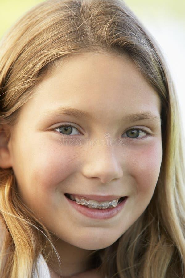 Retrato de una muchacha fotografía de archivo libre de regalías