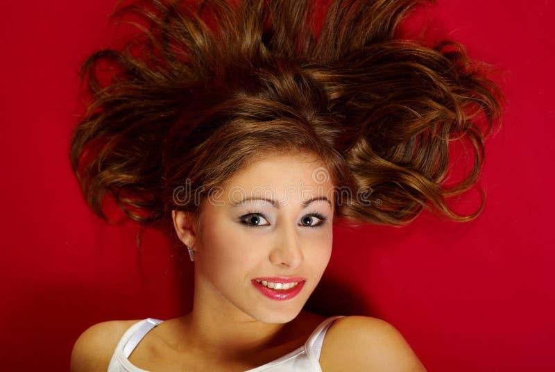 Retrato de una mujer atractiva. foto de archivo libre de regalías