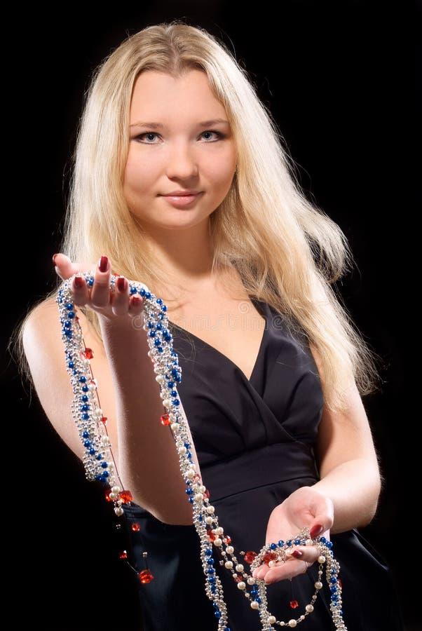 Retrato de una mujer joven foto de archivo libre de regalías