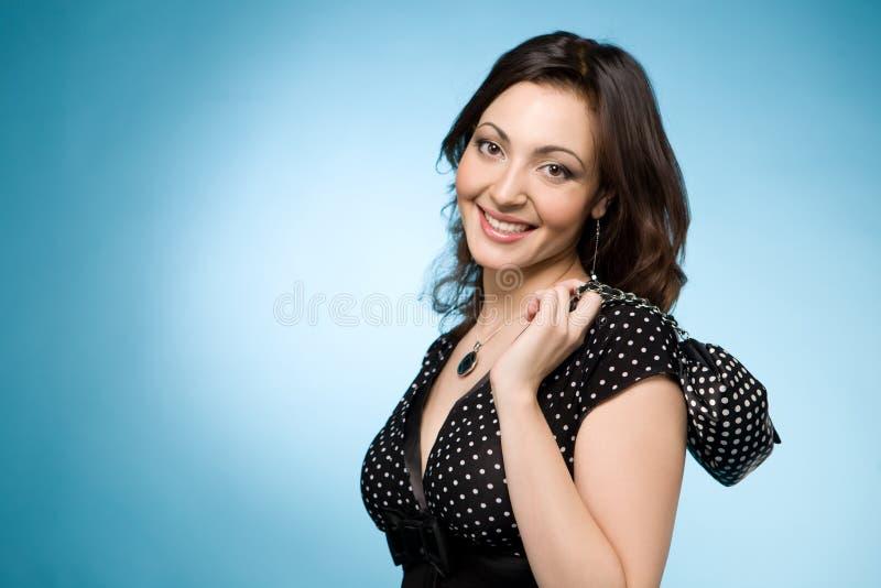 Retrato de una mujer judía feliz imagen de archivo