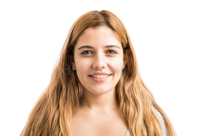 Retrato de una mujer linda foto de archivo libre de regalías