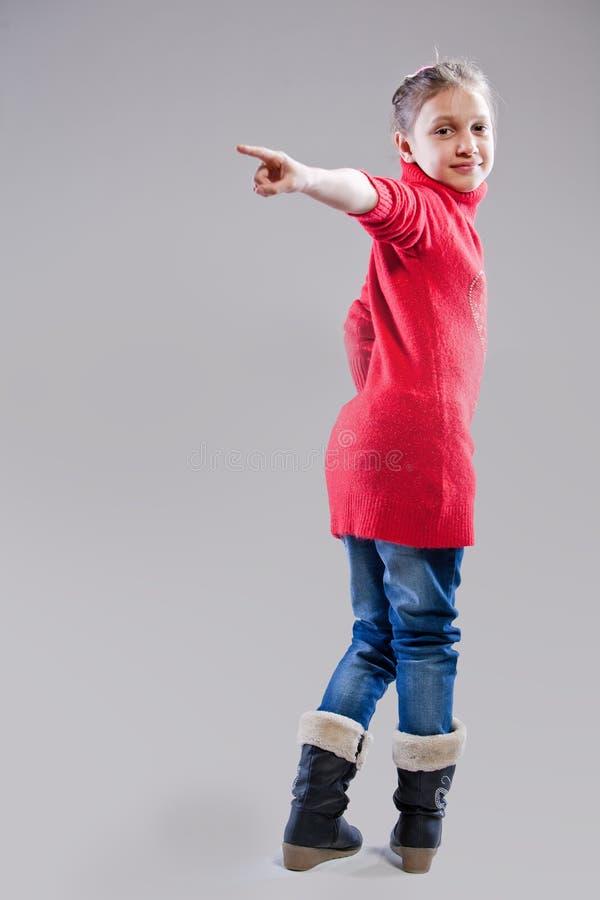 Retrato de una niña imagen de archivo