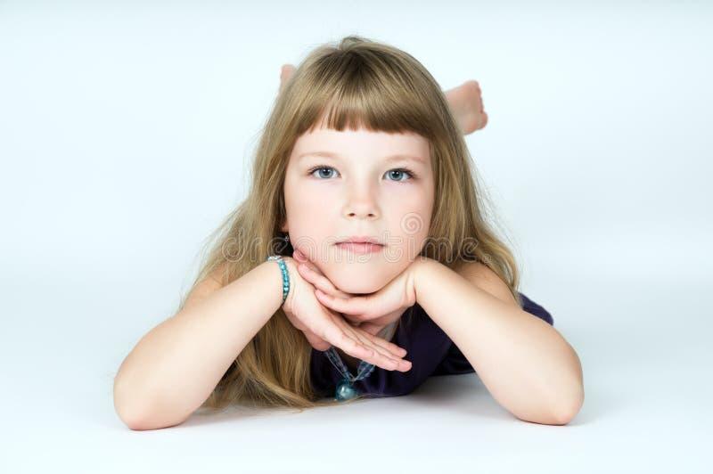 Retrato de una niña fotografía de archivo libre de regalías