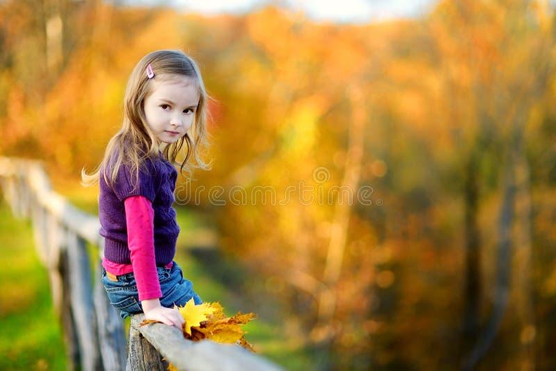 Retrato de una niña linda imagenes de archivo