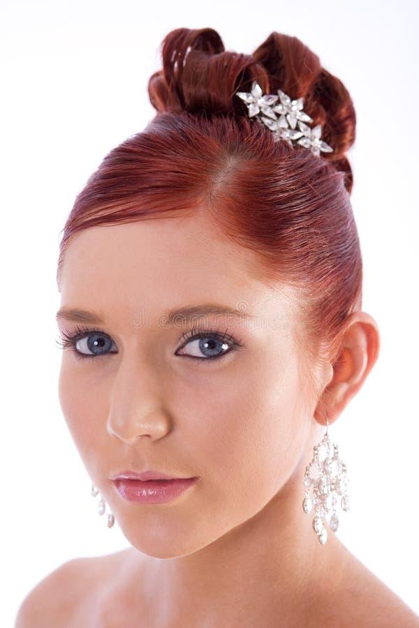 Retrato de una novia imagenes de archivo