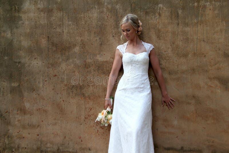 Retrato de una novia foto de archivo libre de regalías