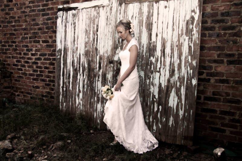 Retrato de una novia imagen de archivo
