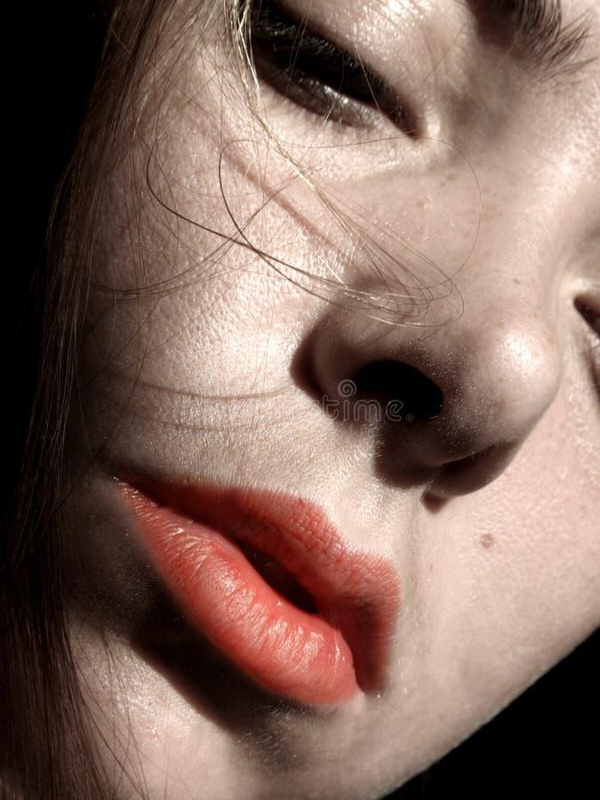 Retrato de uno mismo de Female~A. foto de archivo libre de regalías