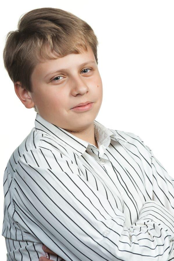 Retrato del adolescente imagenes de archivo