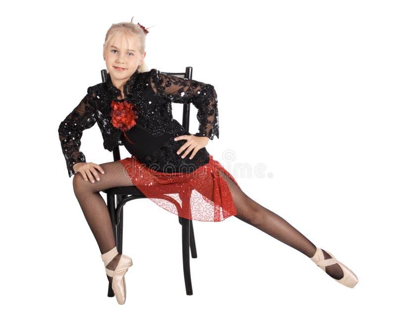 Retrato del bailarín foto de archivo libre de regalías