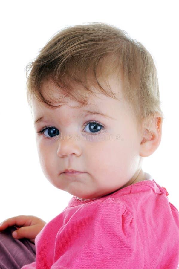 Retrato del bebé encantador fotografía de archivo