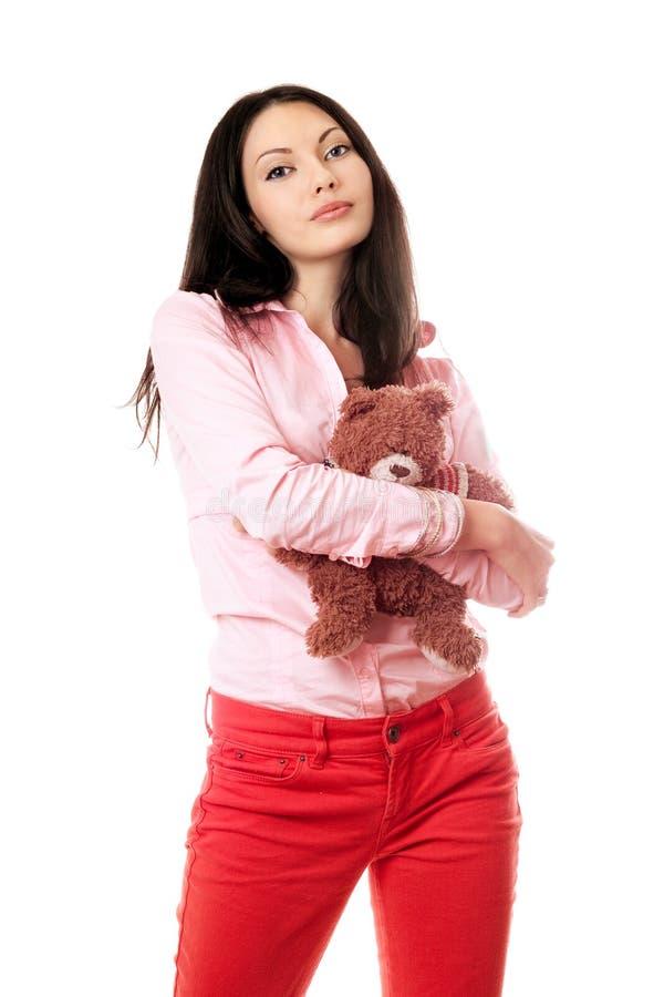 Retrato del brunette encantador foto de archivo libre de regalías