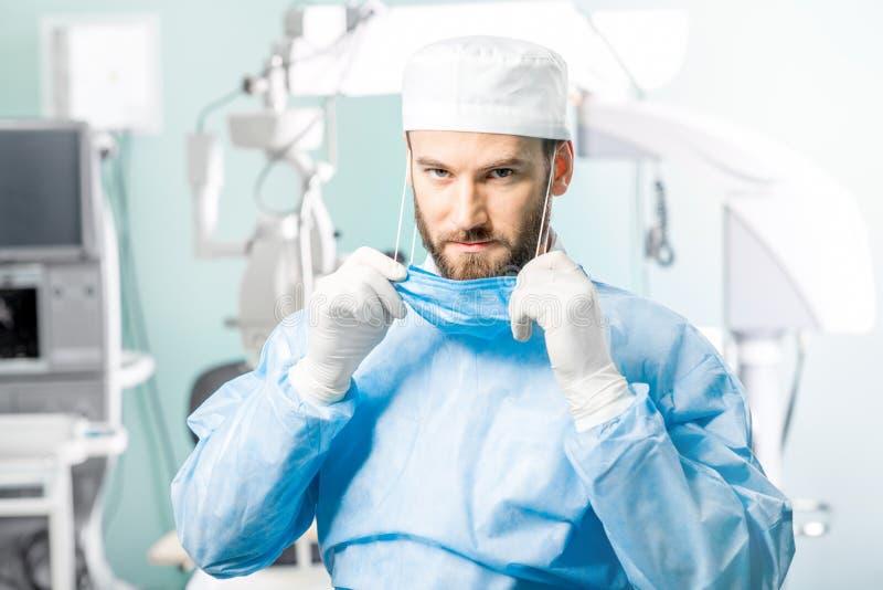 Retrato del cirujano fotos de archivo libres de regalías