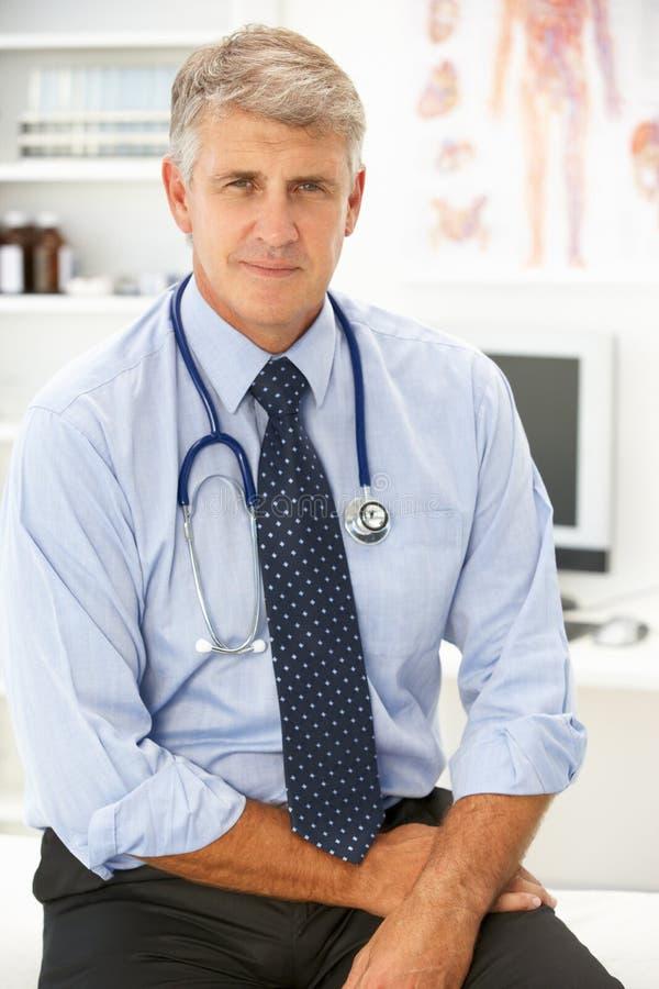 Retrato del doctor fotografía de archivo