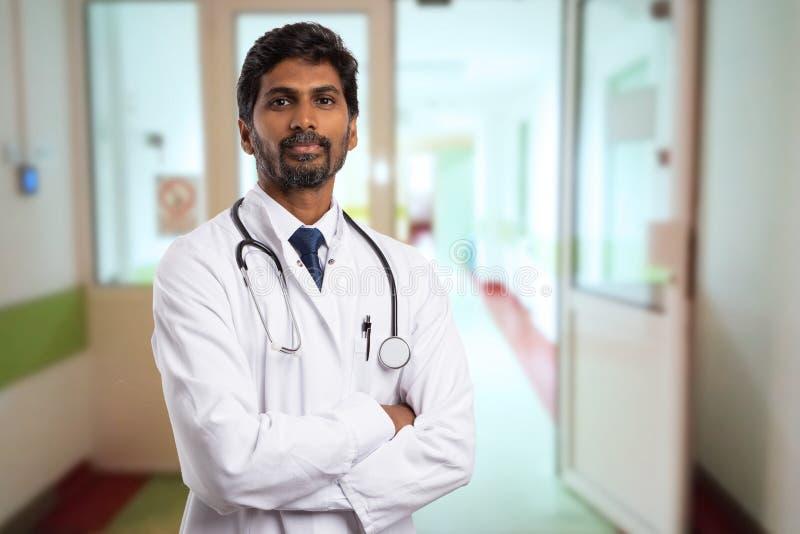 Retrato del doctor indio fotografía de archivo libre de regalías