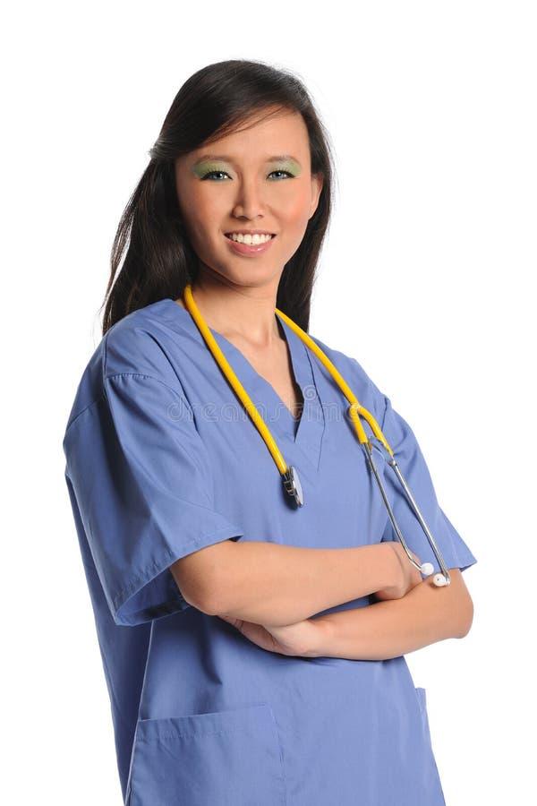 Retrato del doctor o de la enfermera imagenes de archivo